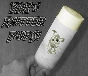 Butter Pups – A push-up snack for kids