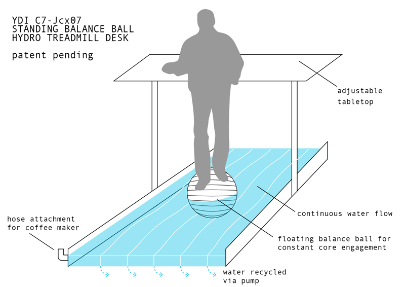 Hydro Treadmill Desk